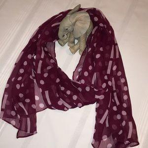 Accessories - Accessorize! Pretty sheer scarf